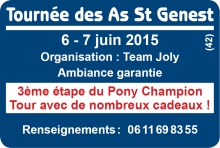 Tournée des As Poney St Genest Lerpt